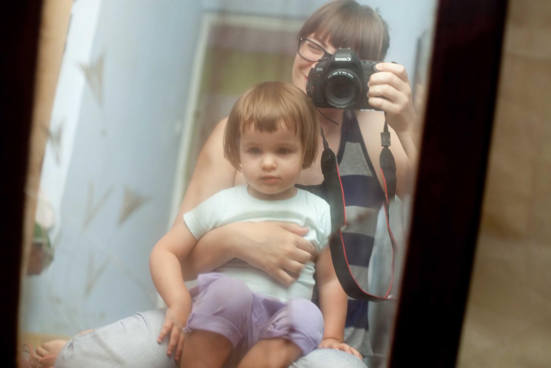 My w starym lustrze po babci