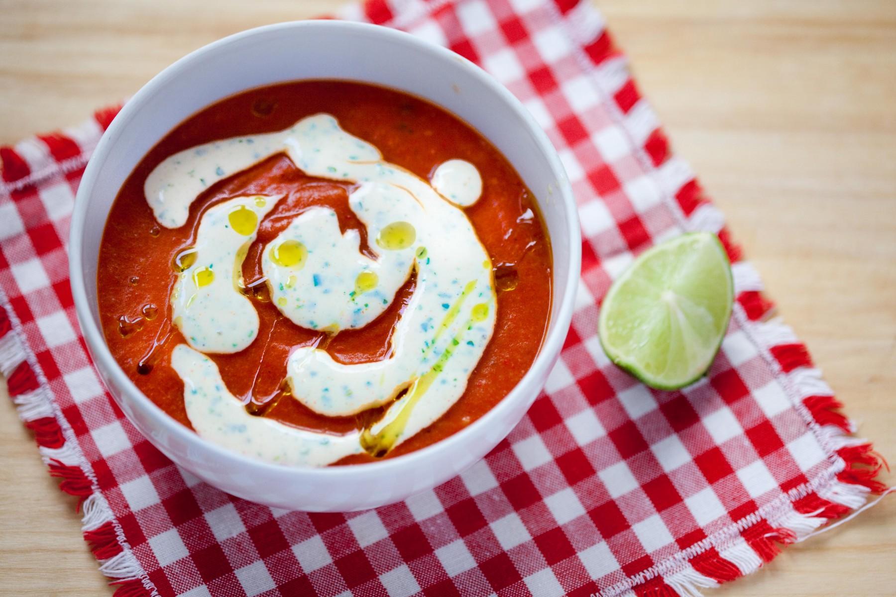 zupa pomidorowa z papryka i ryzem-1