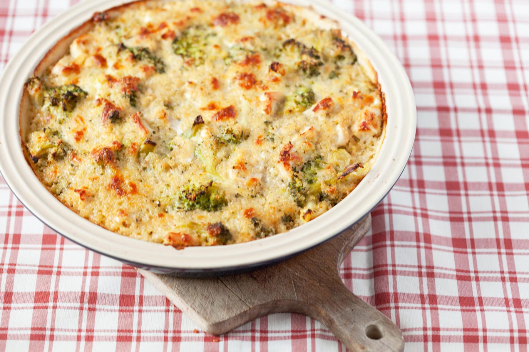 zapiekanka-brokuly-szpinak-quinoa