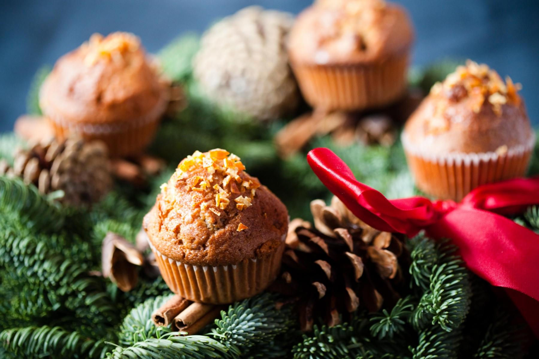 muffinki-z-żurawiną
