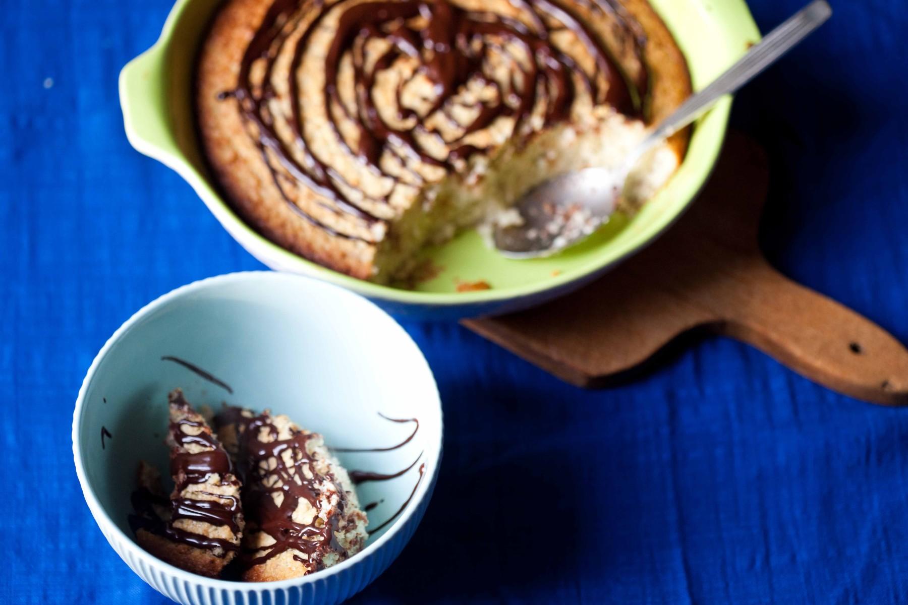 zapiekanka-jaglana-z-bananami-czekolada