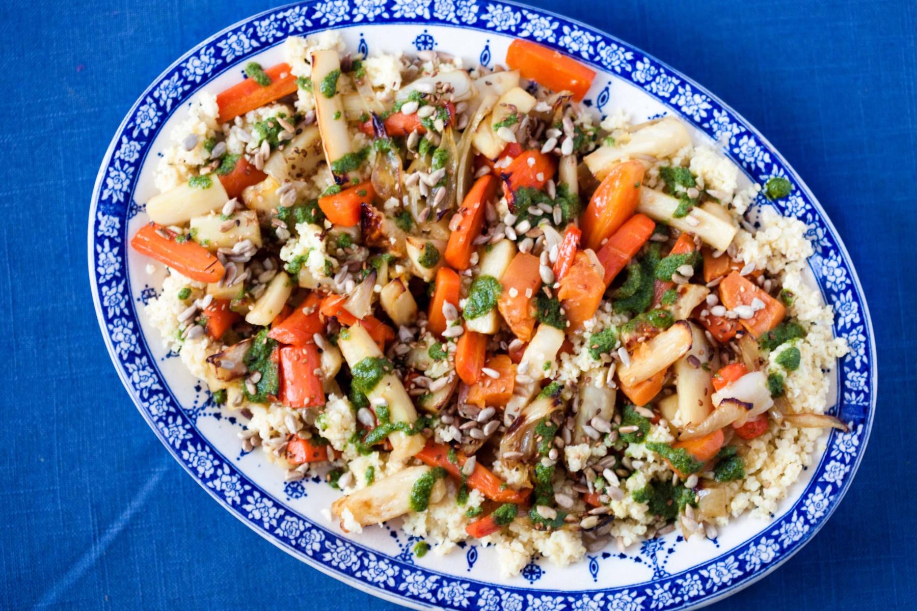 salatka-z-kaszy-jaglanej-z-warzywami