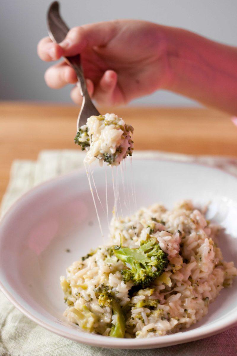 ryż-z-brokułami-serem